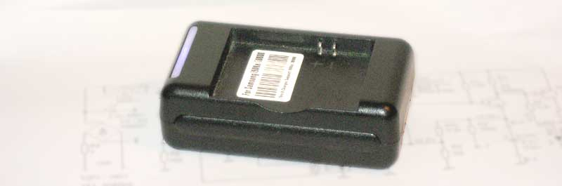 Universal Battery Charger for Li-Ion with USB output