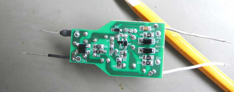 AC-DC converter for LED, board.