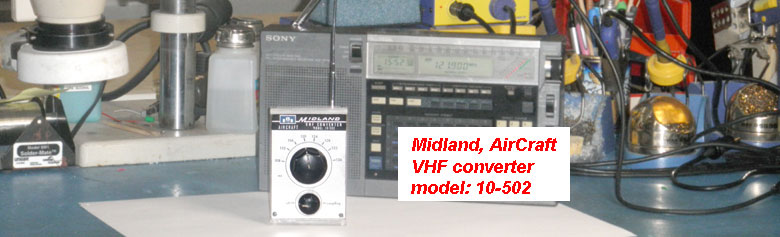RF converter for AM radio, AirBand