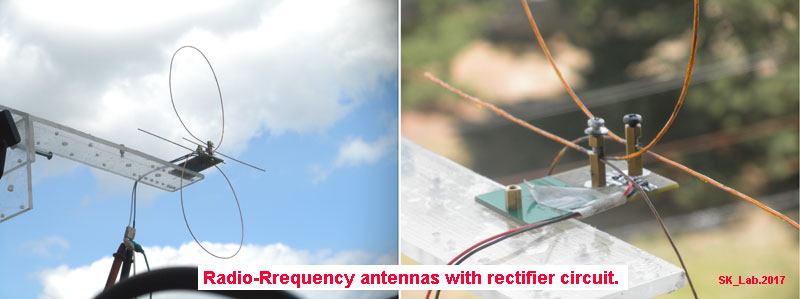Practical antenna for harvesting power from radio waves